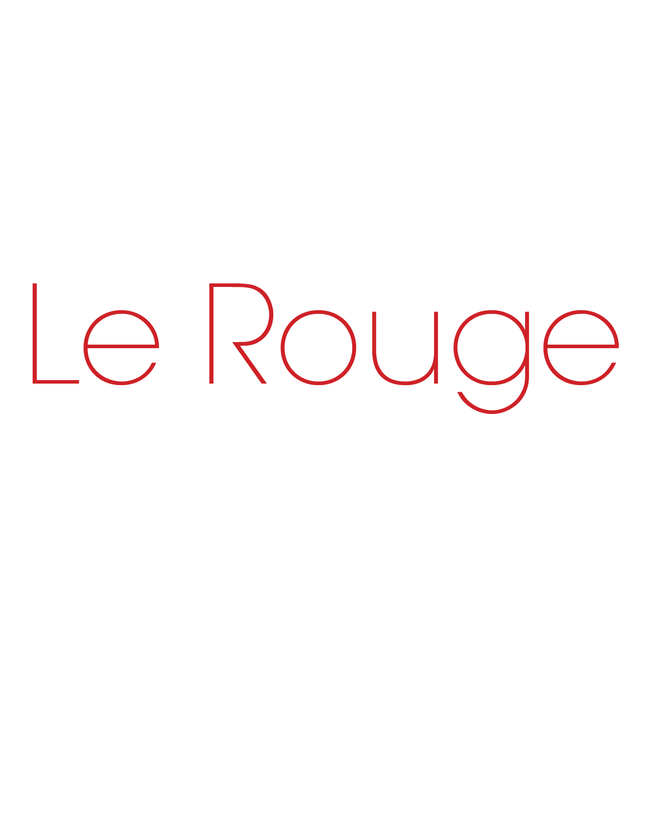 Le Rouge Restaurant Lounge and Martini Bar